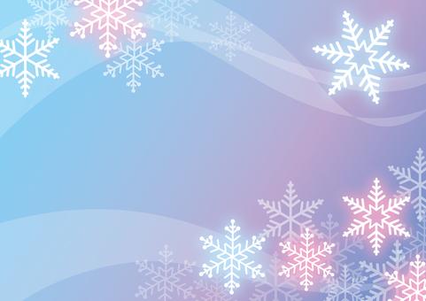 Snow Background Romantic