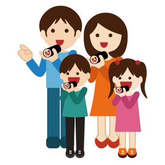 Family series (family) Setsubun