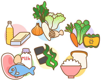 Nutrients and food 2