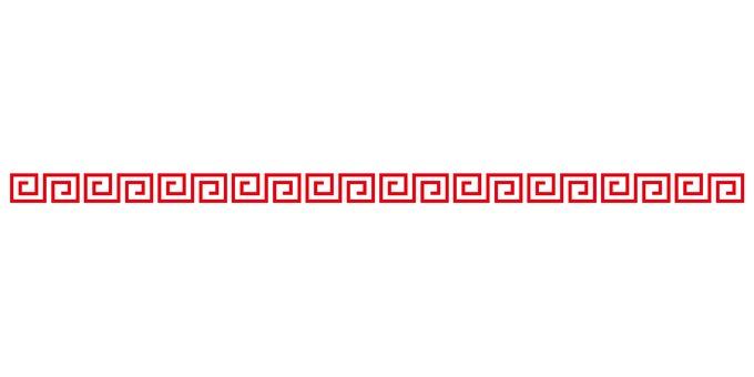 라면 모양 마크 강의 굽이 침 라인