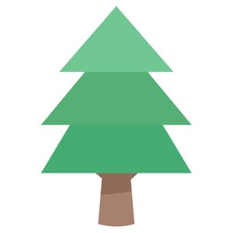 Tree icon (coniferous tree