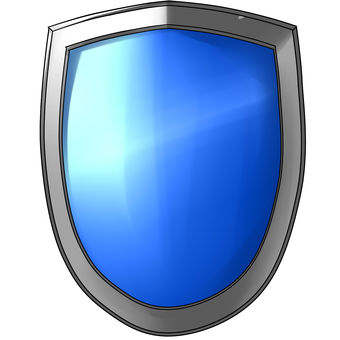 Easy material shield blue