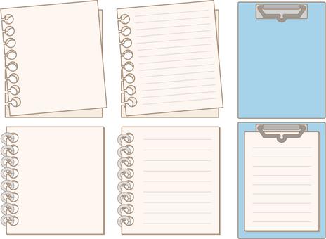 Notepad Sketchbook Binder Line Available