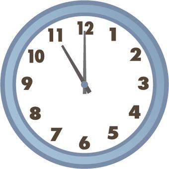 시계 11시