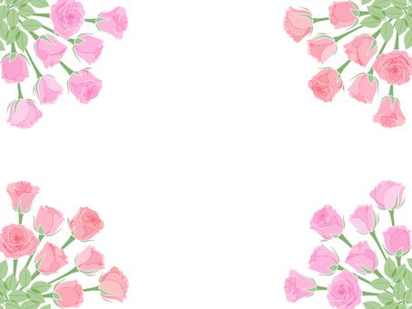 Rose corner frame-01