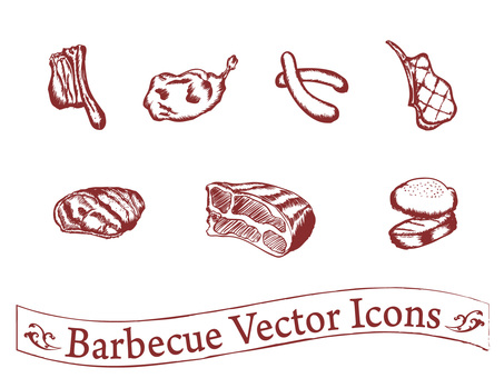 Barbecue pen picture icon