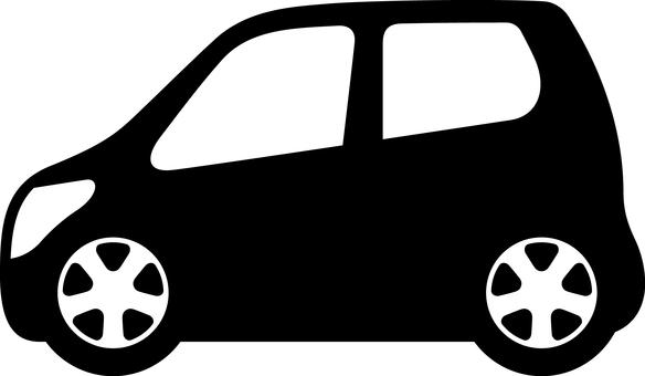 Car silhouette light