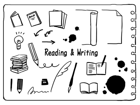 Pencil, pen, notebook