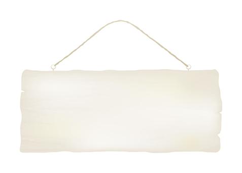 Door plate _ white