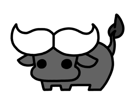 Water buffalo black