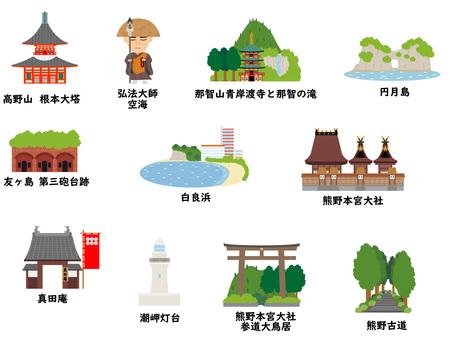 和歌山の観光地