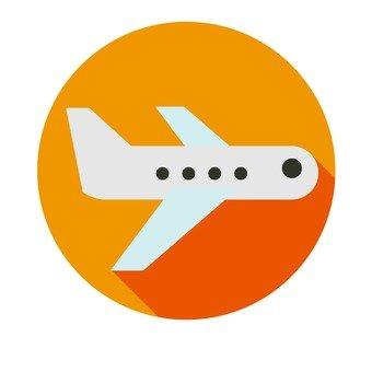 플랫 아이콘 - 비행기