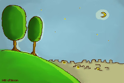 The moon's hill