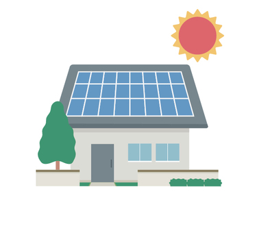 Zero Energy House Photovoltaic House