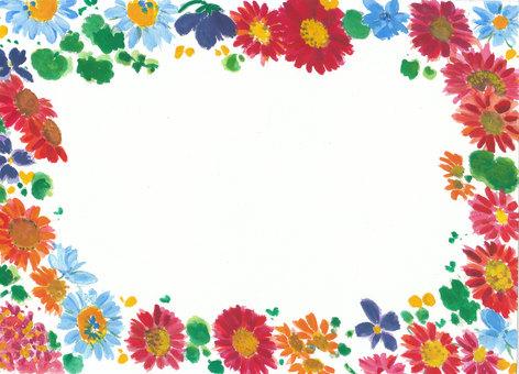 Flower frame Gerbera