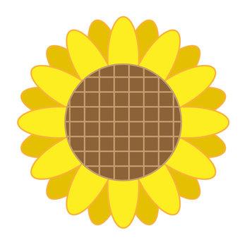 Retro flower pattern ①