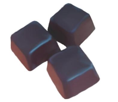 Granular chocolate (bitter)