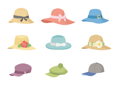 帽子いろいろ