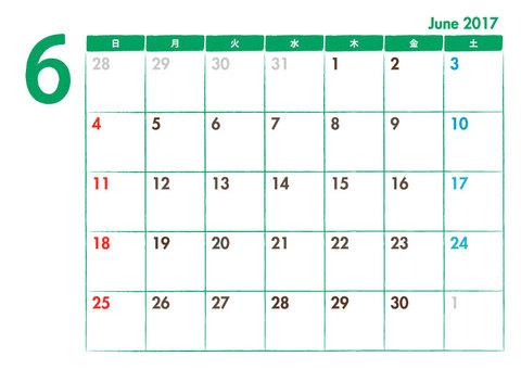 Calendar 2017.06