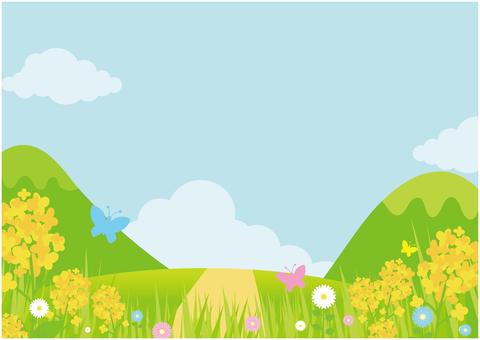 Spring warmly background