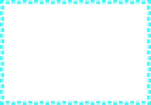 簡單的方形框架(藍色)
