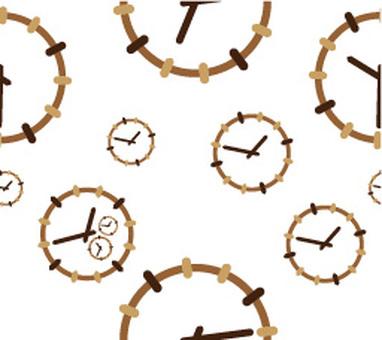 시계 모양 패턴