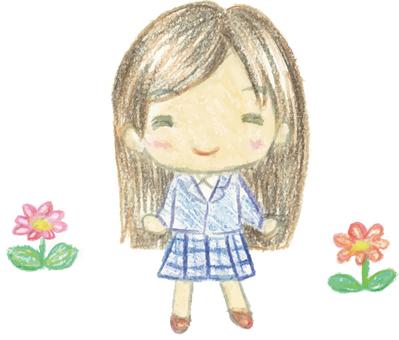 꽃과 소녀