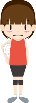 Volleyball player (girls)