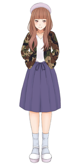 Pattern ② Female 17 (10's)