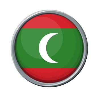 Maldiv flag / icon