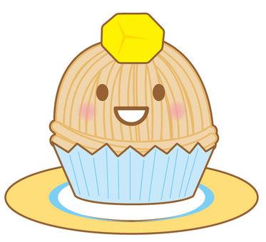 Maron cake 2