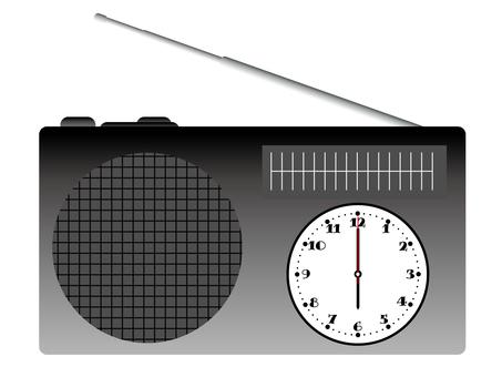 Radio · clock