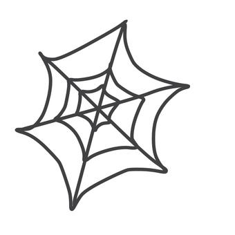 Illustration of spider's nest