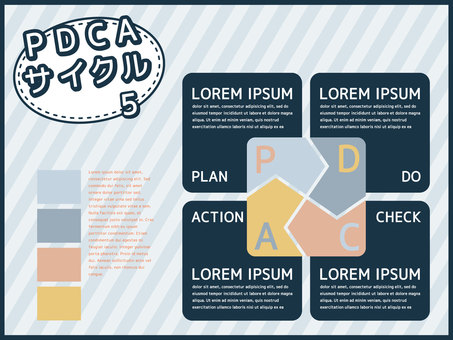 PDCA cycle <5>