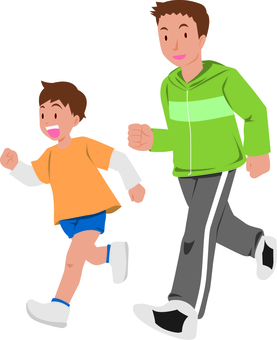 Running with parent and child