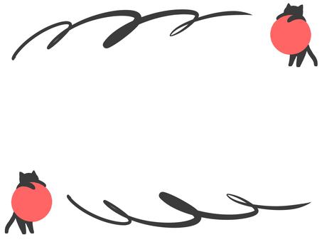 【Frame】 Black Cat