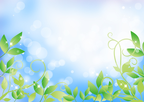 New green _ sky _ background