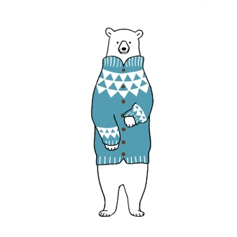 Bear and knit