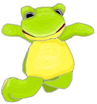 Frog jumping!