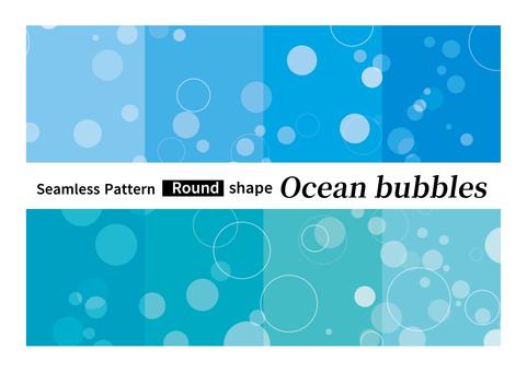 원활한 패턴 거품 바다 물 배경