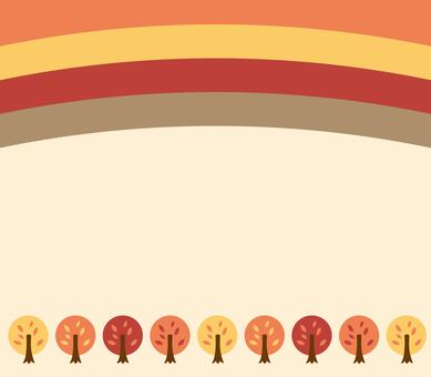 Autumn tree background 2