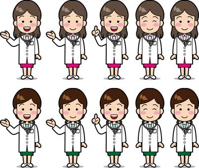 Female doctor!