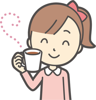 女の子ピンク長袖-171-バスト