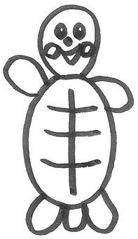 亀 거북 거북 4