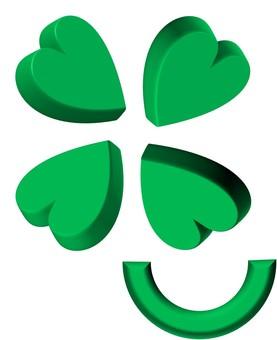 Four leaf clover ③