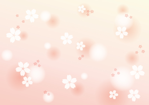 Sakura background frame