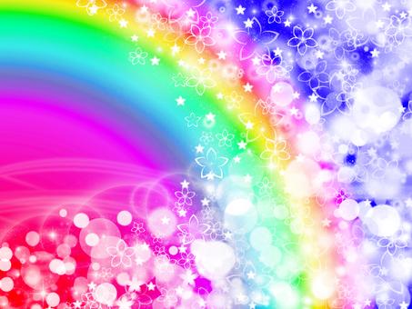 Rainbow colored spring cherry · dark color