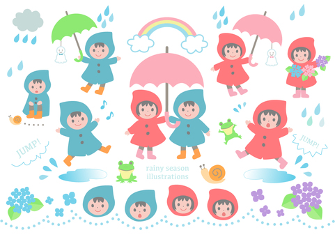 Children of the raincoat