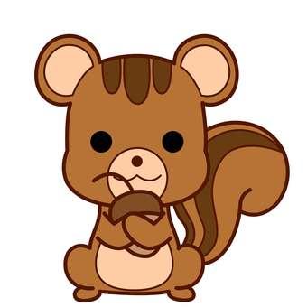Animal Illustrations-Squirrel