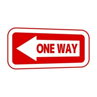One way signboard 2
